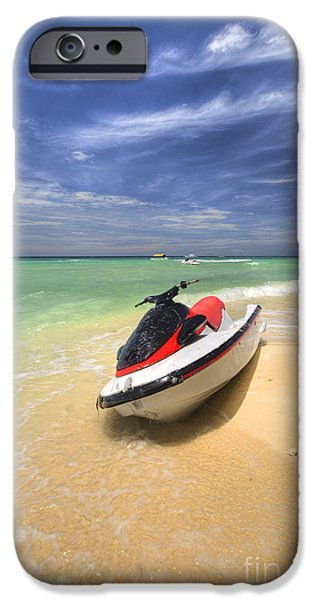 Jet Ski iPhone Case by Yhun Suarez
