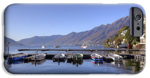 Ascona iPhone Cases - jetty in Ascona iPhone Case by Joana Kruse