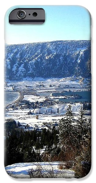 Jewel Of The Okanagan iPhone Case by Will Borden