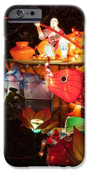 Jiang Tai Gong Fishing iPhone Case by Semmick Photo