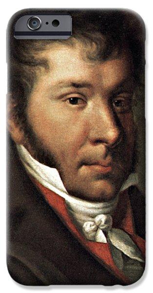JOHANN HUMMEL (1778-1837) iPhone Case by Granger