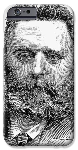 JOHANN JOSEPH MOST iPhone Case by Granger