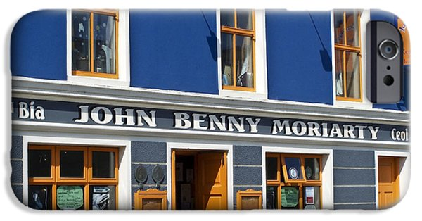 Irish Photographs iPhone Cases - John Benny iPhone Case by Teresa Mucha