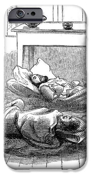 JOHN BROWNS RAID, 1859 iPhone Case by Granger