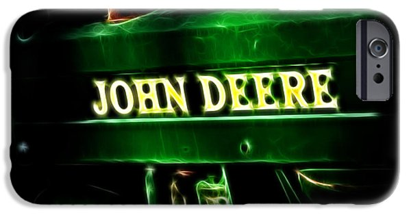 Best Sellers -  - Work Tool iPhone Cases - John Deere 2 iPhone Case by Cheryl Young