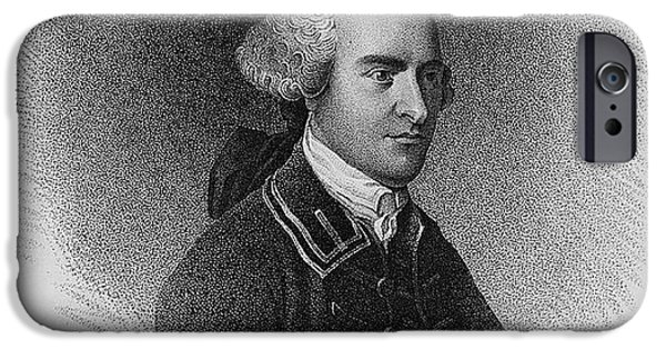 American Revolution iPhone Cases - John Hancock, American Patriot iPhone Case by Photo Researchers