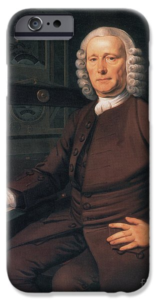 Self Discovery Photographs iPhone Cases - John Harrison, English Inventor iPhone Case by Photo Researchers