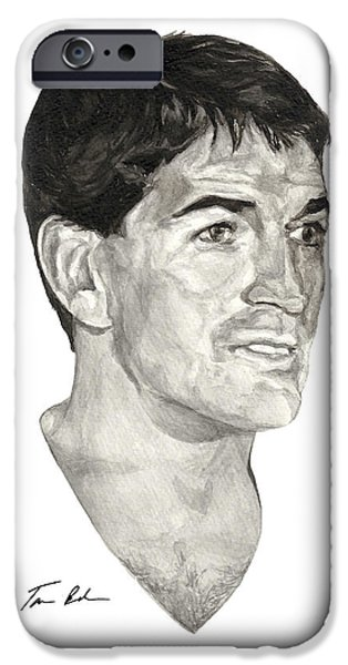 Utah Jazz iPhone Cases - John Stockton iPhone Case by Tamir Barkan