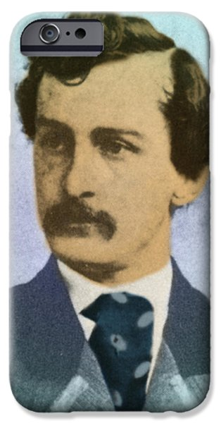 John Wilkes Booth, Assassin iPhone Case by Photo Researchers