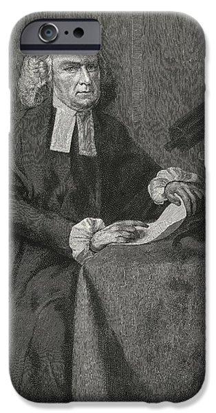 John Winthrop, Us Astronomer iPhone Case by Science, Industry & Business Librarynew York Public Library