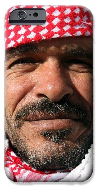 Jordan iPhone Cases - Jordanian Man iPhone Case by Munir Alawi