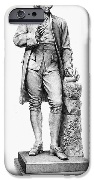 JOSEPH PRIESTLEY (1733-1804) iPhone Case by Granger