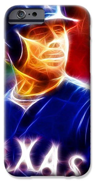 Josh Hamilton Magical iPhone Case by Paul Van Scott