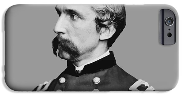 Maine iPhone Cases - Joshua Lawrence Chamberlain iPhone Case by War Is Hell Store