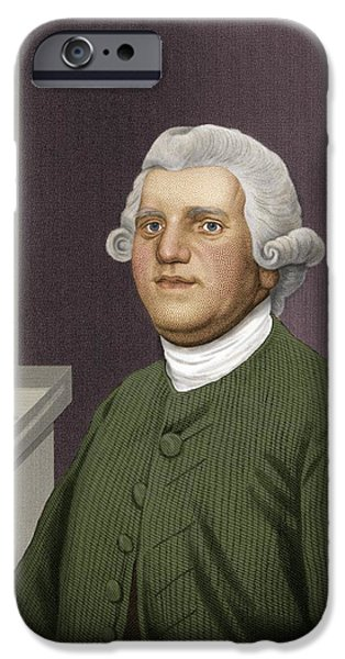 Josiah Wedgwood, British Industrialist iPhone Case by Maria Platt-evans