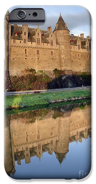 Facade iPhone Cases - Josselin Chateau iPhone Case by Jane Rix
