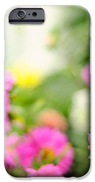 Joy of Summer Time iPhone Case by Jenny Rainbow