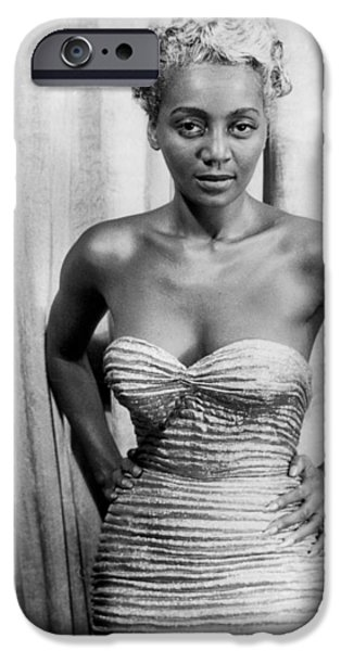 JOYCE BRYANT, 1953 iPhone Case by Granger
