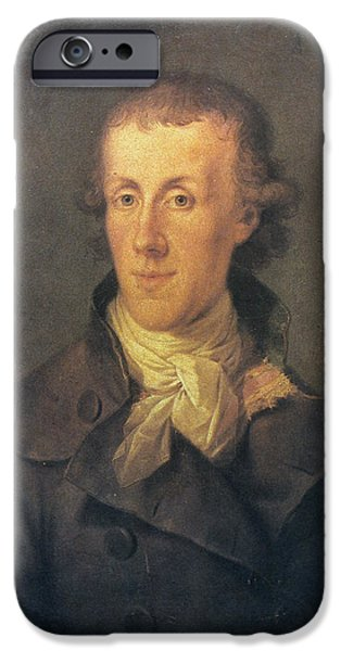 J.P. BRISSOT DE WARVILLE iPhone Case by Granger