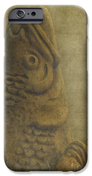 Stone Carving iPhone Cases - Juju Wisdom iPhone Case by Sharon Mau
