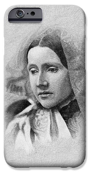 JULIA WARD HOWE (1819-1910) iPhone Case by Granger