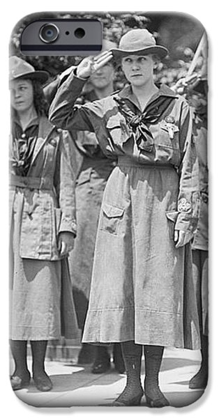 Juliette Daisy Low, Founder Of The Girl iPhone Case by Photo Researchers