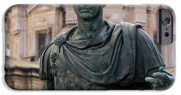 Julius Caesar iPhone Cases - Julius Caesar iPhone Case by Andrew Fare