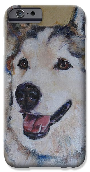 Best Sellers -  - Husky iPhone Cases - Juneau iPhone Case by Julie Dalton Gourgues