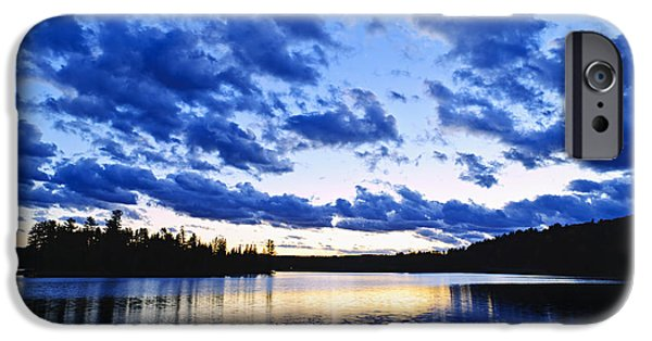 Algonquin iPhone Cases - Just before nightfall iPhone Case by Elena Elisseeva