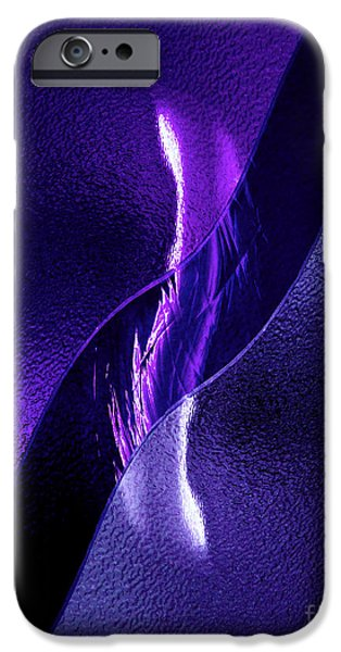 Interior Glass iPhone Cases - Just Below the Ice iPhone Case by Peter Piatt