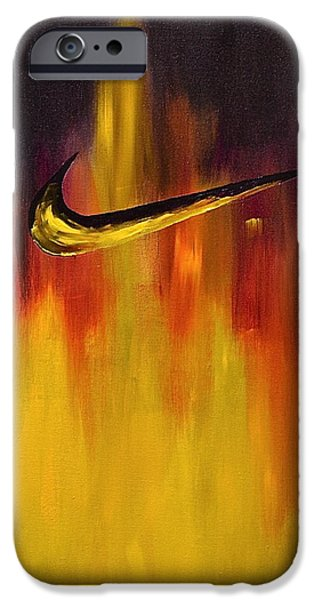 Nike iPhone Cases - Just Do It iPhone Case by Herschel Fall