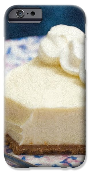Just One Bite Of Key Lime Pie iPhone Case by Andee Design