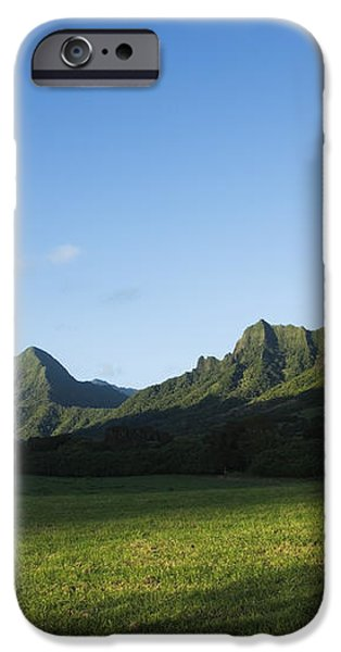 Kaaawa Valley iPhone Case by Dana Edmunds - Printscapes