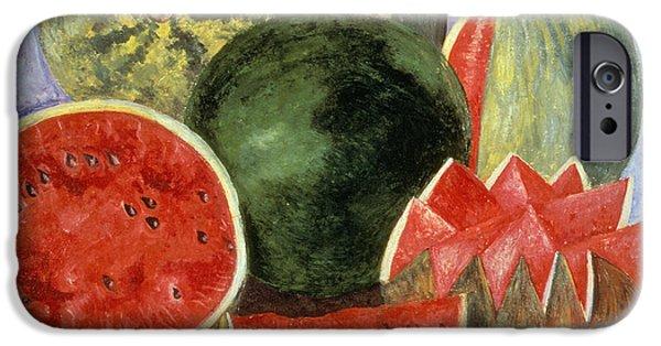 Still Life iPhone Cases - Kahlo: Viva La Vida, 1954 iPhone Case by Granger