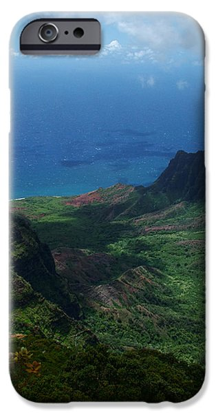 Kalalau Valley 2 iPhone Case by Ken Smith