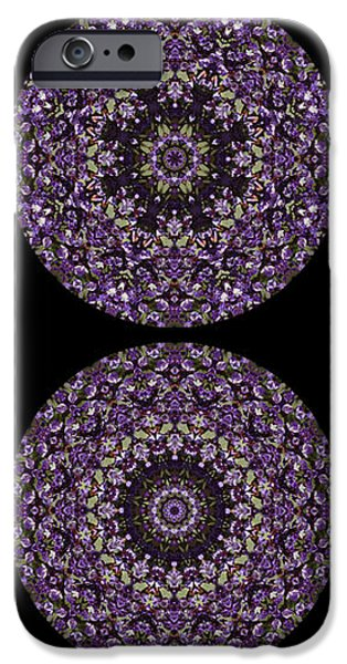 Kaleidoscope Sampler iPhone Case by Teresa Mucha