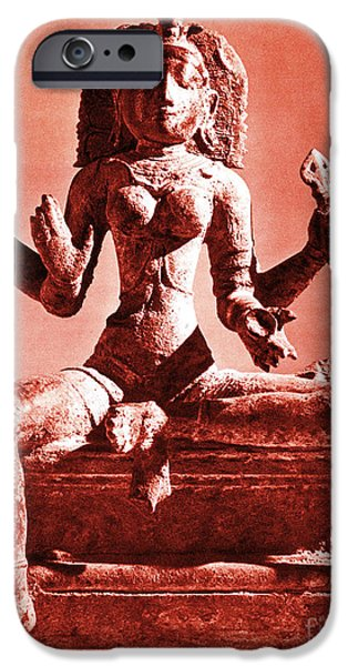 Hindu Goddess iPhone Cases - Kali iPhone Case by Photo Researchers