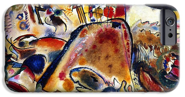 Pleasure iPhone Cases - Kandinsky Small Pleasures iPhone Case by Granger