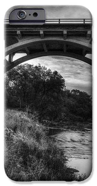 Kansas Archway Bridge iPhone Case by Thomas Zimmerman