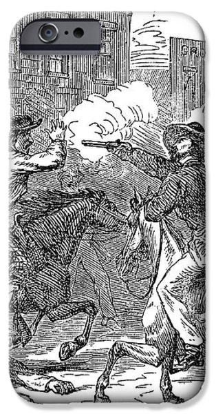 KANSAS: LAWRENCE, 1856 iPhone Case by Granger
