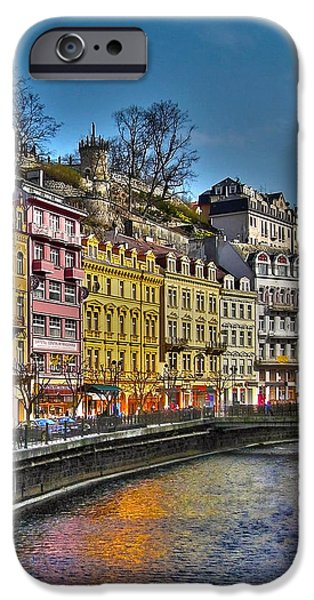 Karlovy Vary - Ceska Republika iPhone Case by Juergen Weiss