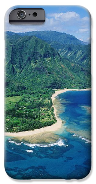 Kauai, Tunnels Beach iPhone Case by Greg Vaughn - Printscapes