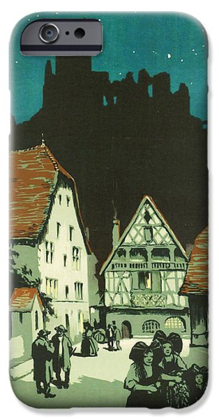 Kaysersberg Alsace iPhone Case by Nomad Art And  Design