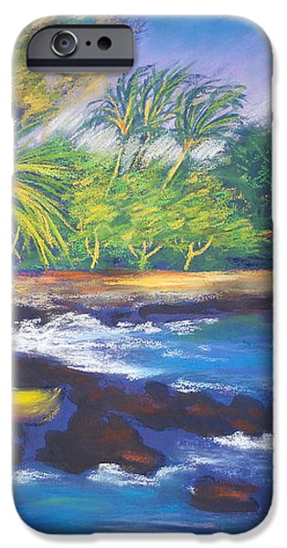 Kealakekua Bay iPhone Case by Karin  Leonard