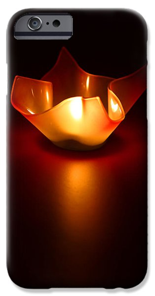 Simplistic iPhone Cases - Keep the Light On iPhone Case by Evelina Kremsdorf