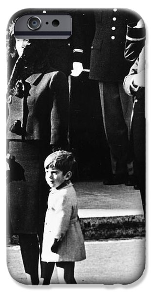 KENNEDY FUNERAL, 1963 iPhone Case by Granger