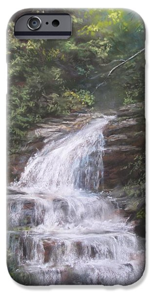 Kent Falls iPhone Case by Jack Skinner