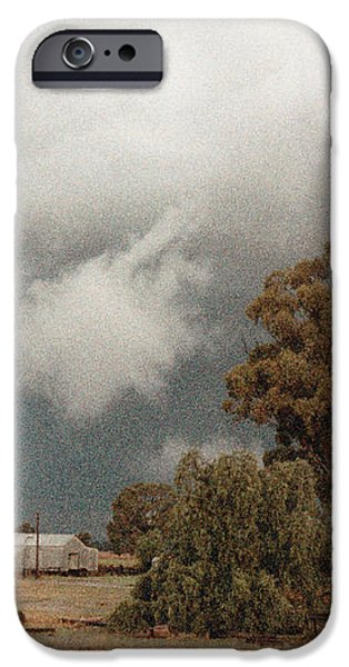 Kerula Storm  iPhone Case by Vicki Ferrari