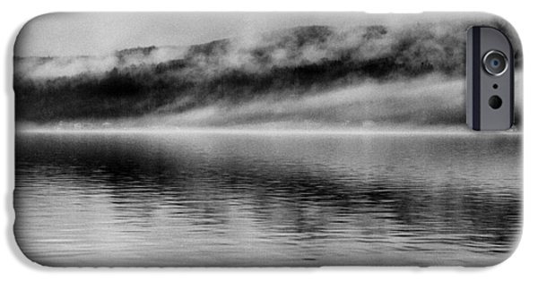 Lakescape iPhone Cases - Keuka Mists iPhone Case by Joshua House