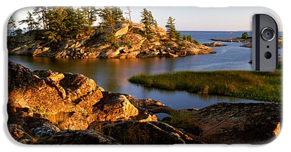 Killarney Provincial Park iPhone Cases - Killarney Provincial Park iPhone Case by Ron Watts